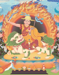 The Four Kadampa Guru Deities flat