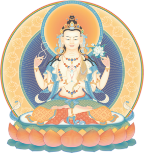 four-armed-avalokiteshvara
