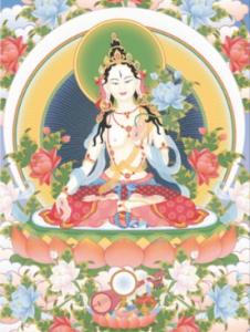 white-tara